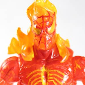 Human Torch Spider-man